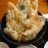 宝 - 料理写真:牡蠣天丼 ¥1400