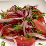 Puja - パクチー香るトマトサラダ