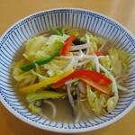 105379111 - 野菜たっぷりタンメン