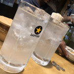 平澤かまぼこ - レモンサワー