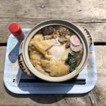 105380790 - 鍋焼きうどん(税込1,200円)