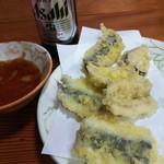 赤兎馬 - 白イワシの天ぷら