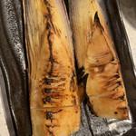 アカマル屋 - 筍の炙り焼き