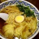 10539838 - 醤油ワンタン麺 \840