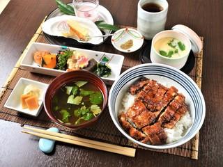 食彩 あさ乃 - うなぎ 御膳(一例)