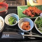 土古里 - ランチ:大盛牛たん味噌たれ焼き
