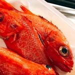 海鮮大衆酒場ル うなり - 冬の高級魚キンキ
