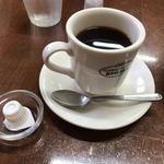 琥珀 - ドリンク写真:ホットコーヒー(430円)
