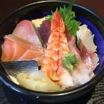 あじ彩 - 海鮮丼