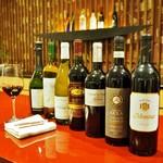 ガーデンキッチン リチェッタ - ドリンク写真:ワイン多数取り揃えております