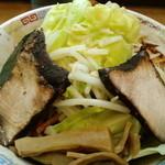 ロッキー - 汁無し+肉大+大盛り(600g)