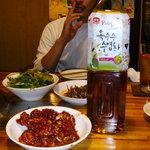 光州家 - ケジャンとコーン茶