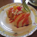 キッチンカプリーズ - 料理写真:クレープ