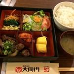 105411327 - H.31.2.21.昼 上焼肉定食(ライス大盛り) 1,296円税込