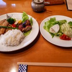 あかり家ギャラリーカフェ - 料理写真:日替わりランチ