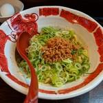 105416058 - デフォの汁なし担々麺