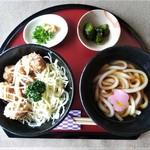 ミニ丼麺セット(ミニ丼3種から1種&うどんセット)