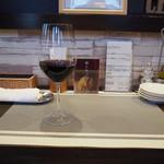 トラットリア ルチアーノ - グラスワイン
