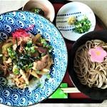 並盛丼ミニ麺セット(なみ盛丼3種から1種&そばセット)