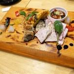 yakitoritowainkasshi-wa - 前菜の盛り合わせ ¥980