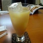 ほっとカフェ Smile - ドリンク写真:信州桃のフレッシュジュース