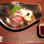 10543916 - しめ鯖と朝採りの生湯葉