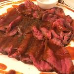 CarneTribe 肉バル - みなせ牛のローストビーフ
