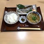 手打ちそば 藤村 - にしんセット  ¥1450
