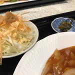 香港厨房 - サラダもついてます