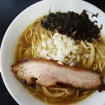 105437632 - 限定「煮干中華蕎麦」(2019年4月10日)