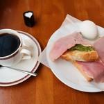 Cafeがんちゃ - 料理写真:モーニング(全体)