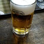 新川屋酒店 - ドリンク写真:ビール