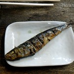 新川屋酒店 - イワシ丸焼き、美味し