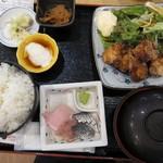 魚の三是 - ふぐ定食@800