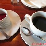 ロッソ - ROSSOスペシャル(淡路産牛肉とキノコのポロネーゼ(食後)) 3/3 ¥1800位