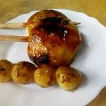 新島田屋 - 焼き団子と味噌つけまんじゅう