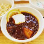スープ ストック トーキョー 阪急三番街店 - 牛と野菜の東京ボルシチ。
