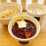 スープ ストック トーキョー 阪急三番街店 - 赤と白のスープ競演。