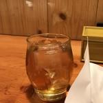 鳥貴族 - 焙煎樽仕込梅酒ロック(2019.4.10