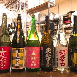 ◆意外性のあるペアリング◆料理を引き立たせる「日本酒」