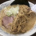 Hokkaidouramenrairaiken - 味噌ラーメン+メンマ ¥800+200
