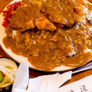 渡辺 - 料理写真:かつカレー