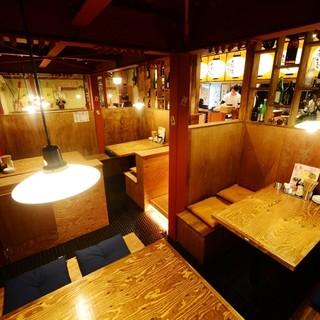 『和とバルのMIX』天ぷら酒場♪半個室テーブル席も有り◎