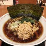 友部サービスエリア(上り線)味の蔵 - 納豆ラーメン