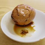 穆撒 蘭州牛肉拉麺 - 茶葉蛋