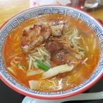 ひろや食堂 - やき肉ラーメン(¥730)