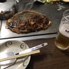 きじ - 料理写真:もだん大(930円税別)と生ビール(モルツ)(480円税別)