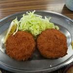 食堂浜膳 - 料理写真:メンチカツ
