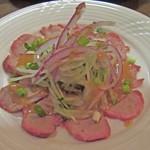 ビストロ ドンナ - 豚ヒレ肉のカルパッチョ