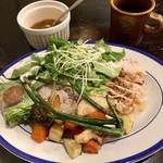 ハナファームキッチン - 野菜たっぷり日替わり